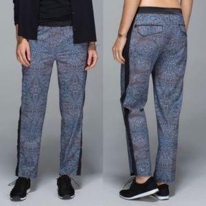Lululemon rise & shine trousers 6 new black